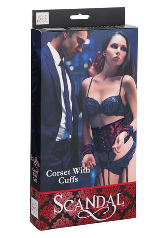 Корсет с наручниками Scandal