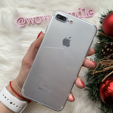 Чехол iPhone 7 Plus Baseus Simple Case (Clear)/прозрачный/