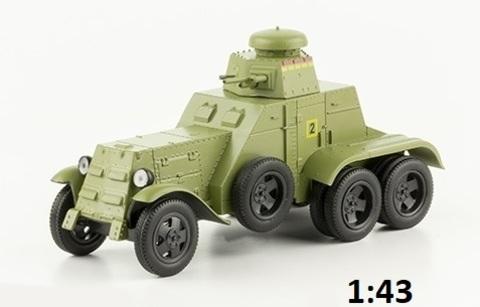 Модель Автолегенды №247 БА-27М