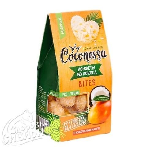 Конфеты кокосовые, Манго, 90 гр, Coconessa