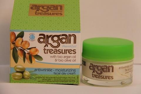 Дневной крем для лица Против морщин ARGAN TREASURES