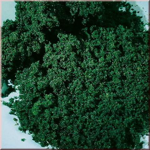 Искусственный мох - тёмно-зелёный (мелкий)