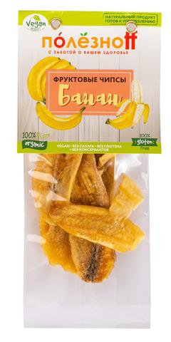 Фруктовые чипсы ПолезноFF  Банан, 30 г