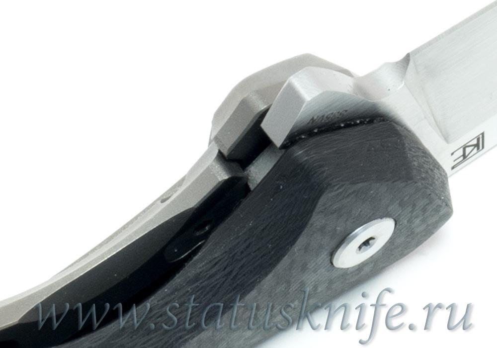 Нож CKF ELF (S35VN, титан-карбон, подшипники) - фотография