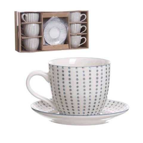 Набор чашек для кофе Topos 190мл 6шт.