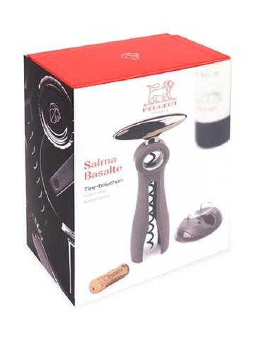 Штопор с обрезателем фольги , артикул 200374, цвет Basalte , Серия Salma