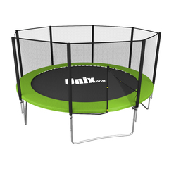 Батут UNIX line Simple 10 ft Green (outside) - 3,05 м