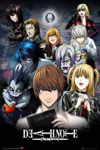 Постер Maxi Death Note Collage