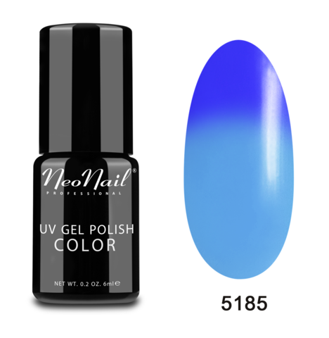 NeoNail Гель-лак UV 6ml Blue Heaven Термо №5185-1