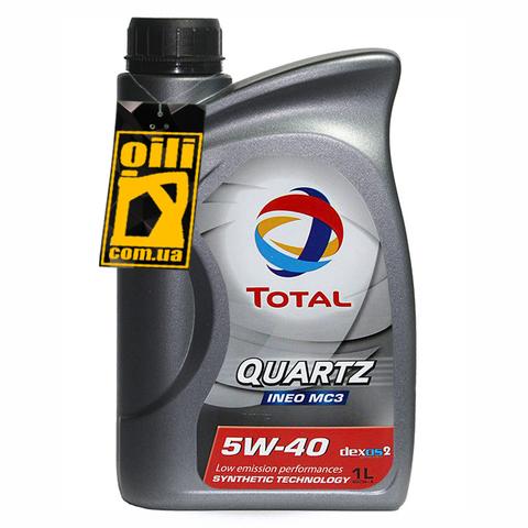 Total QUARTZ INEO C3 5W-40 1л