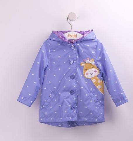 КТ154 Куртка для девочки (ветровка)