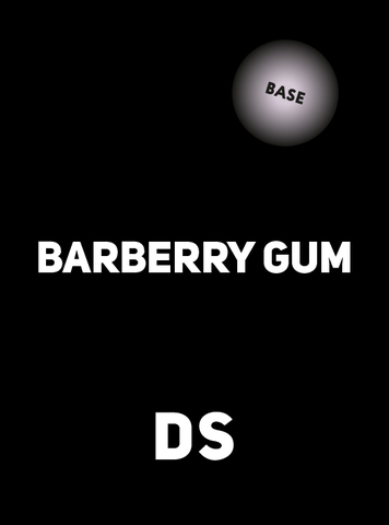 Accessory DS BASE BARBERRY GUM 100