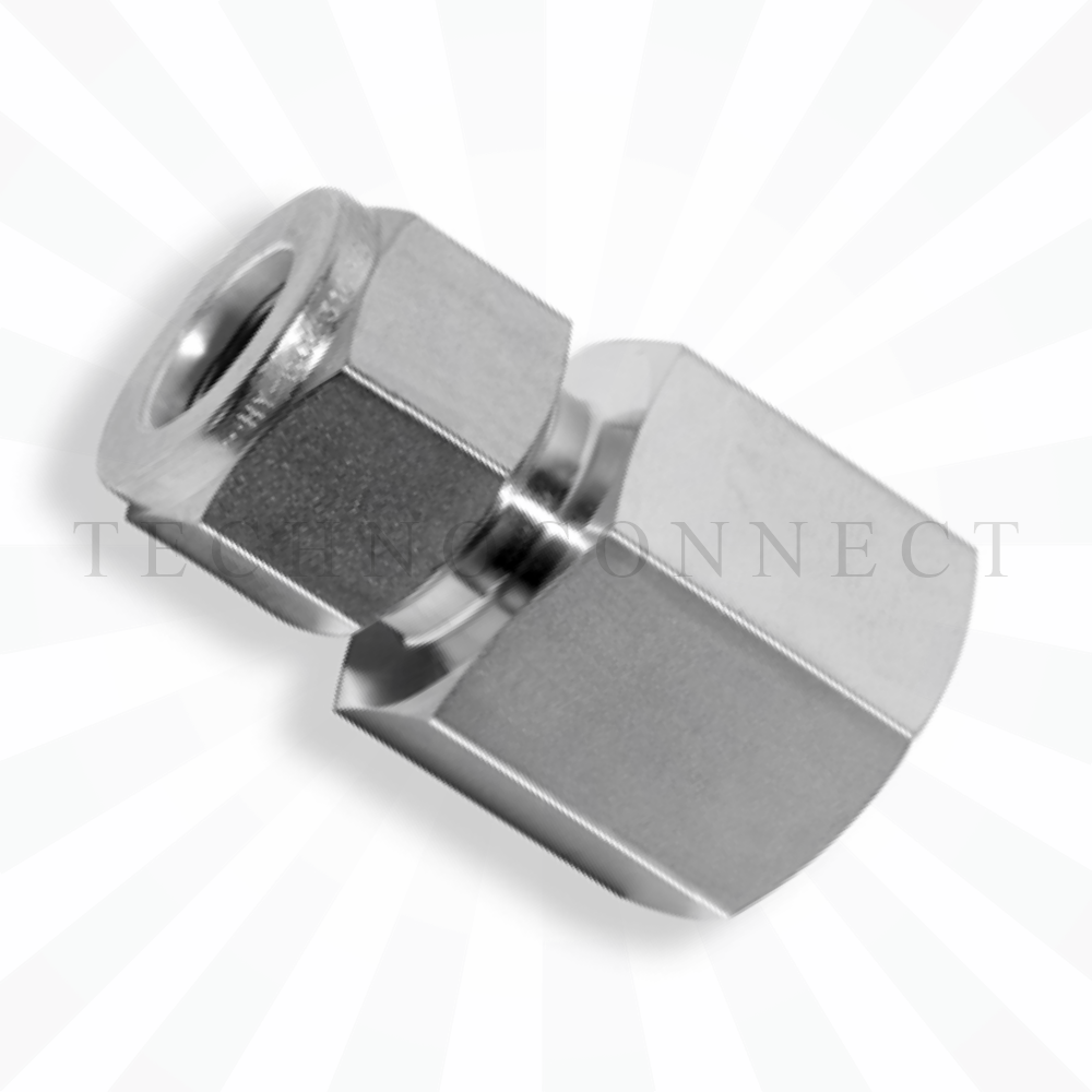 CGC-4-2G  Штуцер прямой: дюймовая трубка 1/4