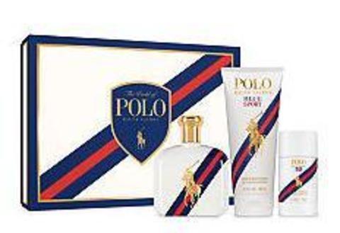 Ralph Lauren Polo Blue Sport Set (Edt 125 ml +S/G 200 ml + Deo Stick 75 ml)