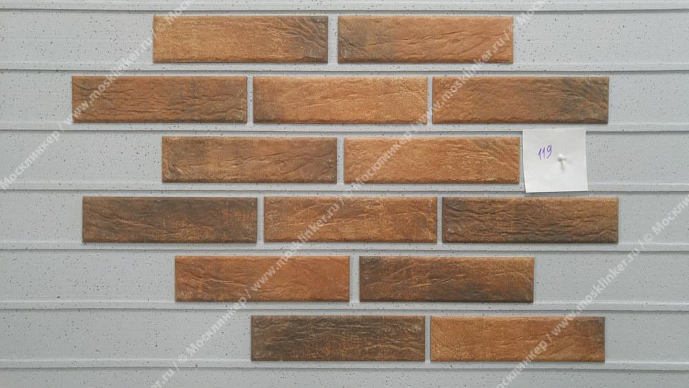 Cerrad Loft brick, Chili, 245x65x8 - Клинкерная плитка для фасада и внутренней отделки