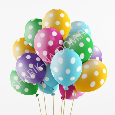 Воздушные шары под потолок Воздушные шары в горошек Шары_в_горошек.jpg