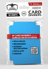 Card Dividers: Blue