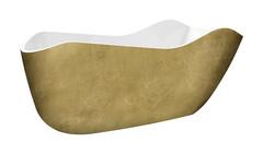 Акриловая ванна Lagard TEONA Treasure Gold 172х79 см