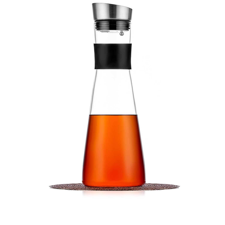 Чайники заварочные стеклянные Кувшин для воды, сока и других напитков, стеклянный с крышкой фильтром и резиновой манжетой 1 л Kuvshin-dlia-soka-i-kokteiley-4-014-1000-teastar.jpg