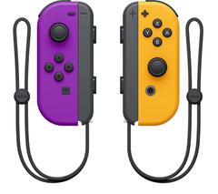 NS: Набор контроллеров Joy-Con (неоновый фиолетовый / неоновый оранжевый)