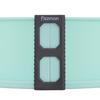 6579 FISSMAN Разъемная форма для выпечки 25x7,5 см ,силикон с дном из жаропрочного стекла,