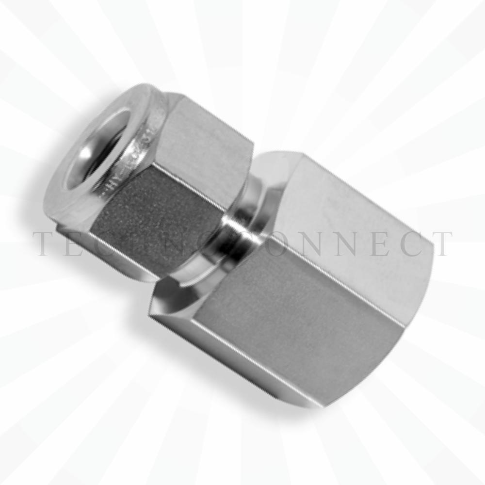 CGC-4-6G  Штуцер прямой: дюймовая трубка 1/4