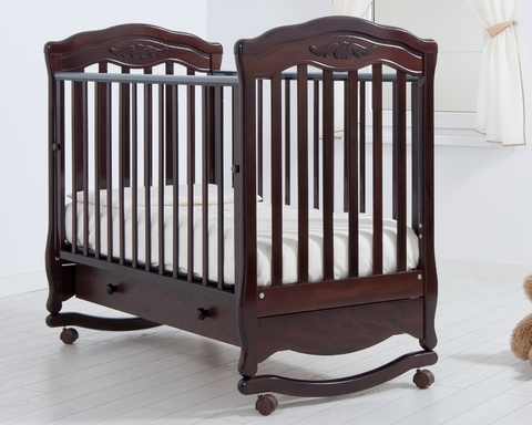 Детская кроватка Гандылян  Шарлотта качалка