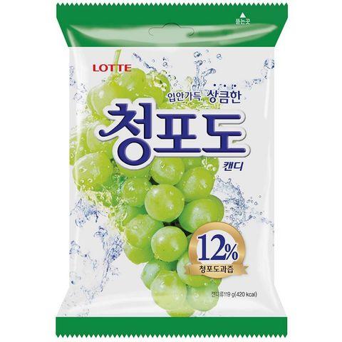 Карамель леденцовая со вкусом зеленого винограда 153 гр