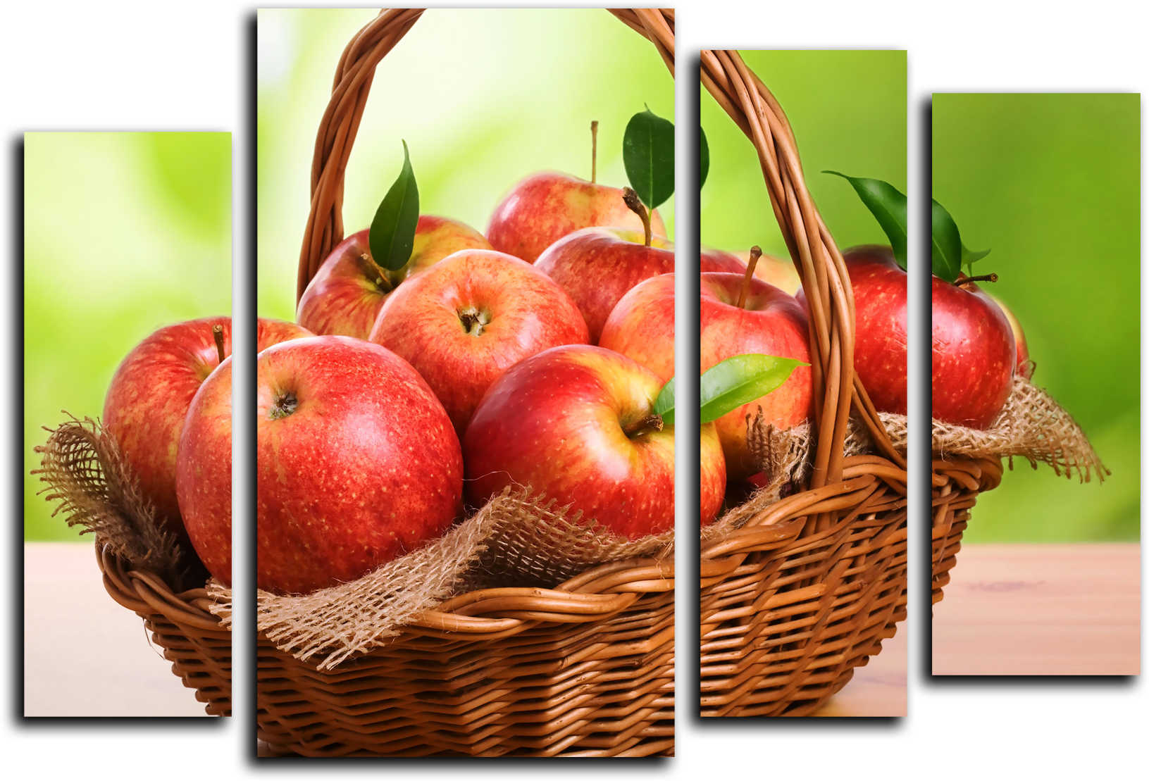 "Еда Модульная картина ""Райские яблочки"" М414.png"
