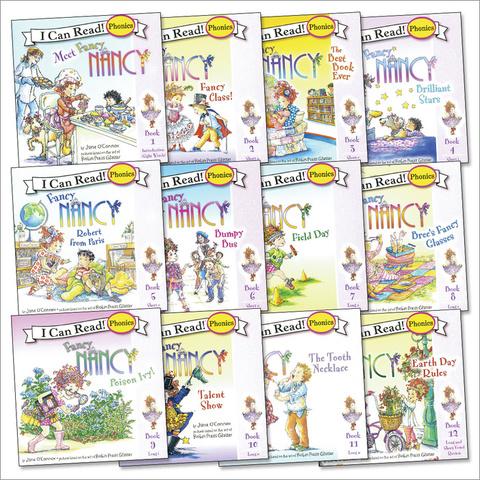 Я могу читать! I can read. Meet Fancy Nancy (set 12) Набор книг