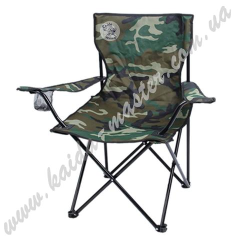Кресло туристическое складное с подлокотниками 50*40*80 см