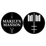 Слипмат Для Проигрывателя Виниловых Пластинок (Marilyn Manson - Logo/Cross)