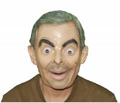 Мистер Бин маска латексная