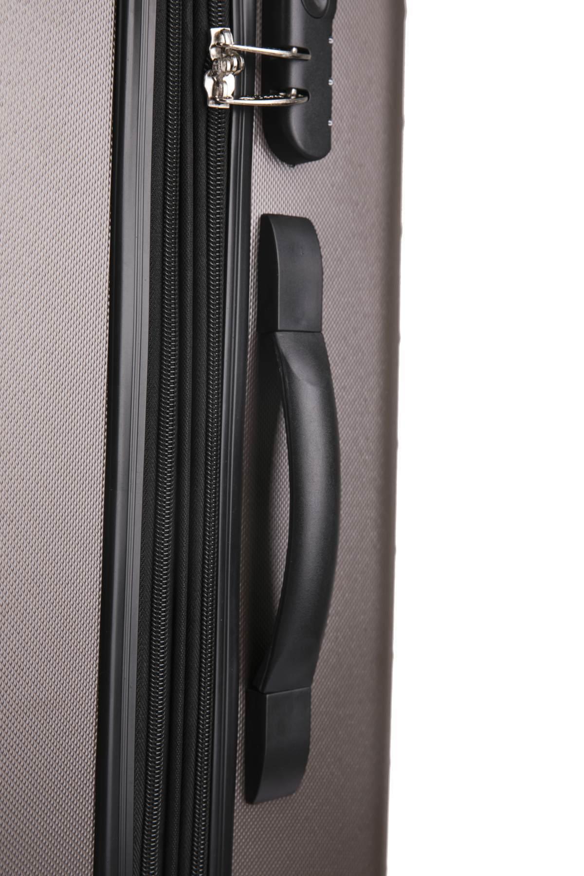 Чемодан с расширением L'case Phatthaya-28 Кофейный (XL)