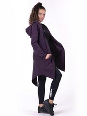Женский кардиган Nebbia tail coat jacket 681 burgundy