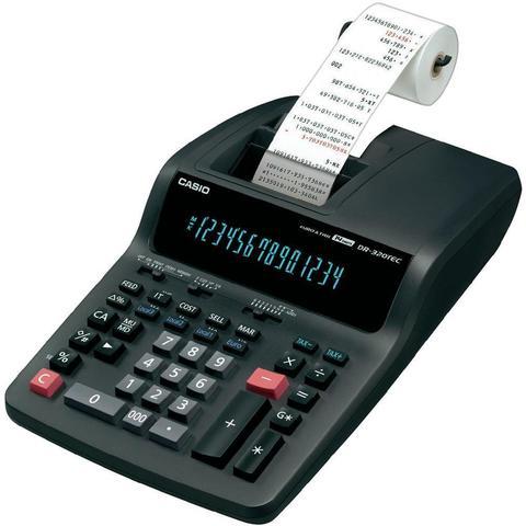 Калькулятор CASIO DR-320TEC-EA-EC