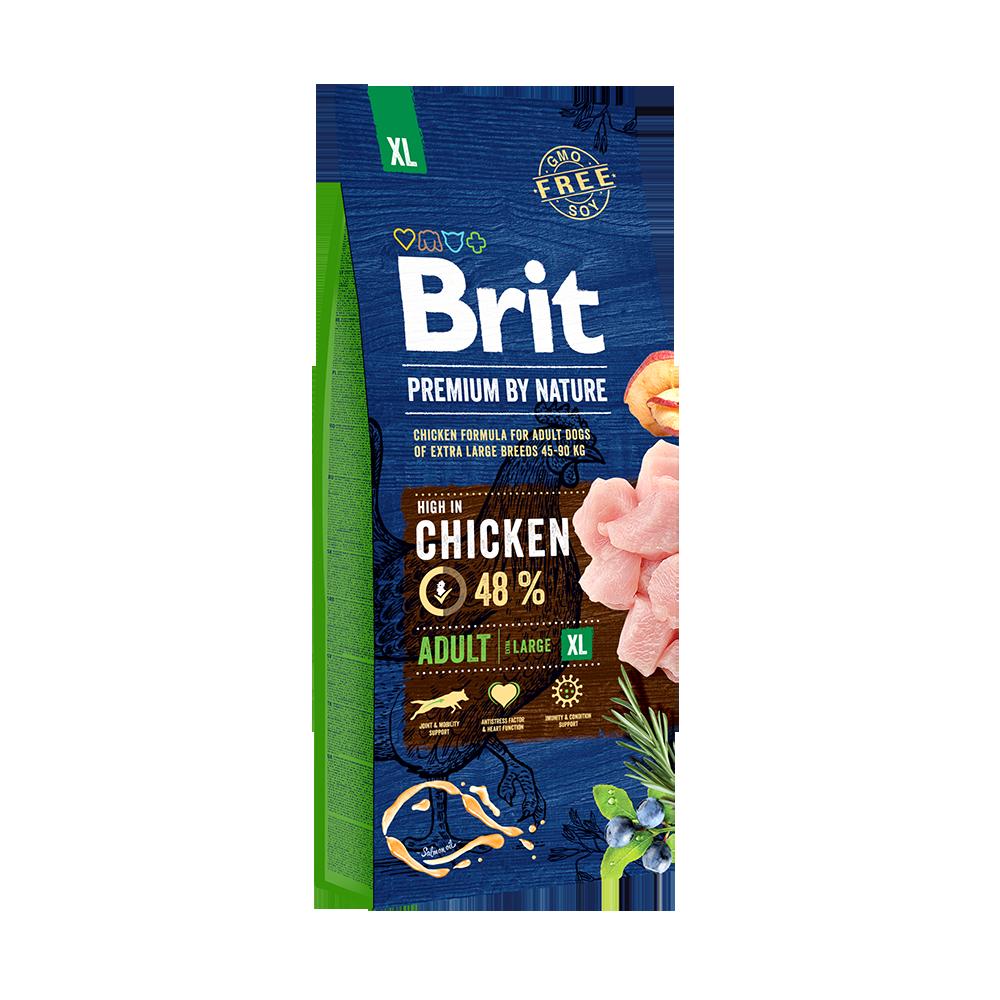 Каталог Корм для собак гигантских пород, Brit Premium by Nature Adult XL 69993.png