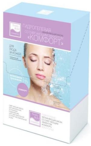 Гидрогелевая увлажняющая маска со смягчающим эффектом для чувствительной кожи