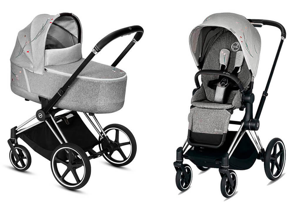 Цвета Cybex Priam 2 в 1 Детская коляска Cybex Priam III 2 в 1 FE Koi Crystallized шасси Chrome Black cybex-priam-iii-2-in-1-fe-koi-crystallized-chrome-black.jpg