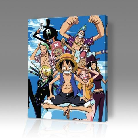 Картина по номерам на холсте One Piece, 40см*50см