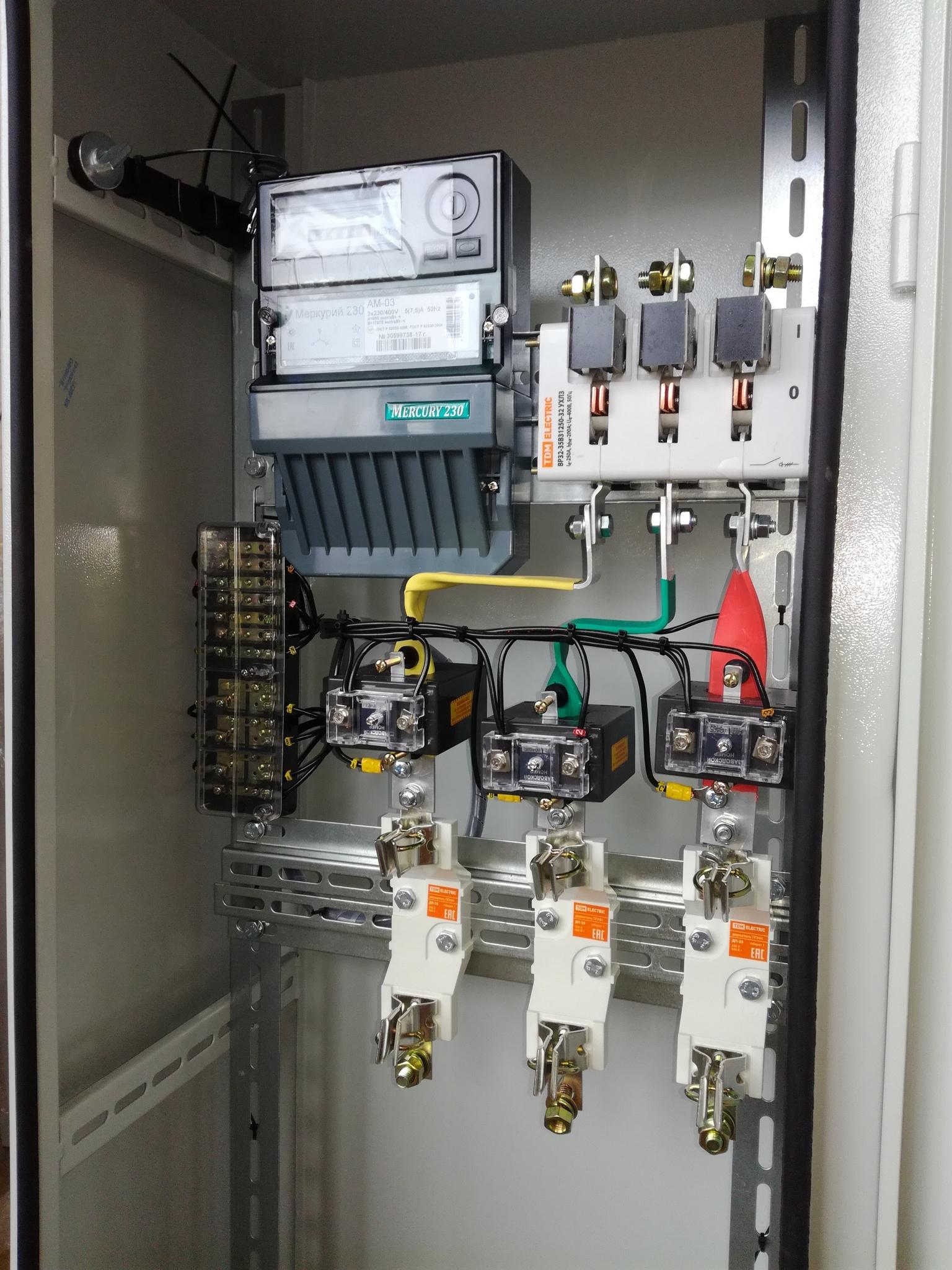 ИВРУ-1 (400 А) IP54