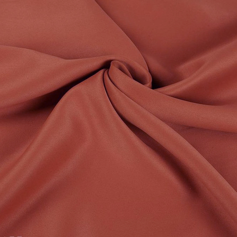 Портьерная ткань блэкаут терракотовая. Арт. Т-711-33