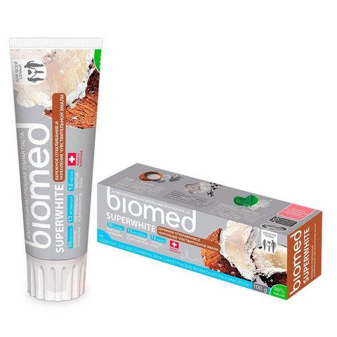 BIOMED зубная паста superwhite / супервайт 100 г