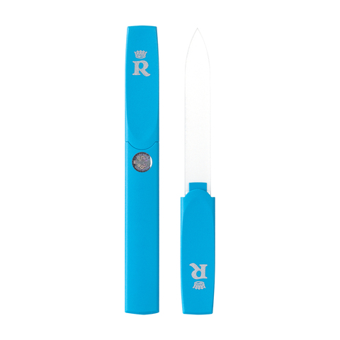 Relouis Bohemia Пилочка для ногтей в пластиковом чехле 128мм