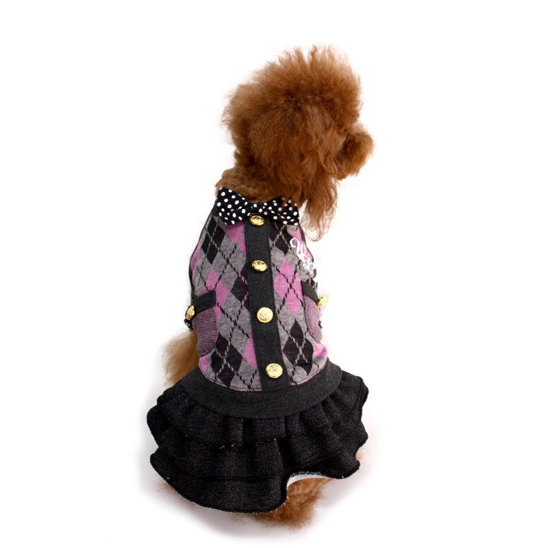 теплое платье для собак