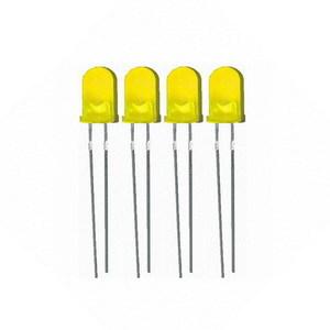 Светодиоды 5 мм (4шт) желтый