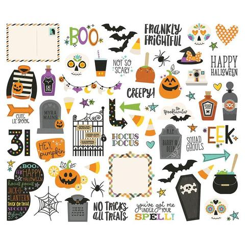 Высечки Say Cheese Halloween Bits & Pieces Die-Cuts -62шт