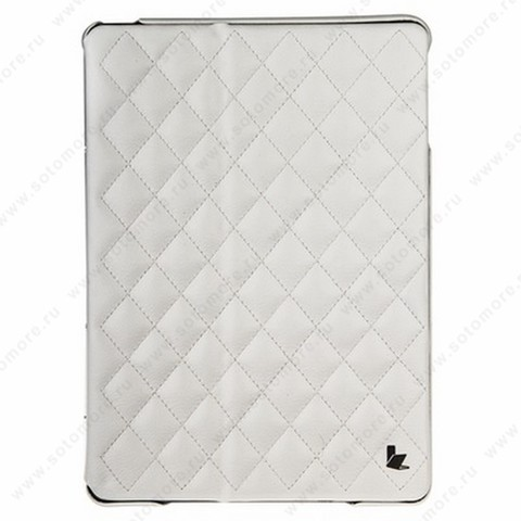 Чехол-книжка Jisoncase для Apple iPad Apple iPad Air 1 со стеганым узором белый JS-ID5-02H00