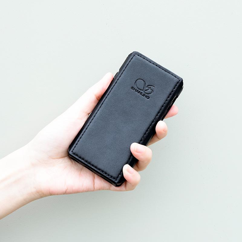 Чехол для плеера Shanling M5s. Цвет: чёрный.