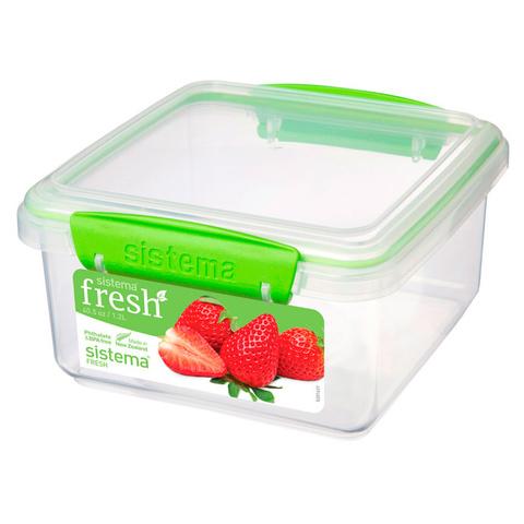 Контейнер прямоугольный Fresh, 1,2 л